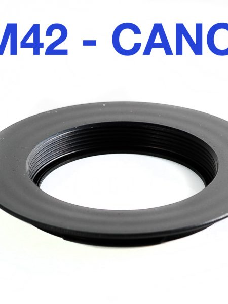 m42 to Canon adapter plain chipless
