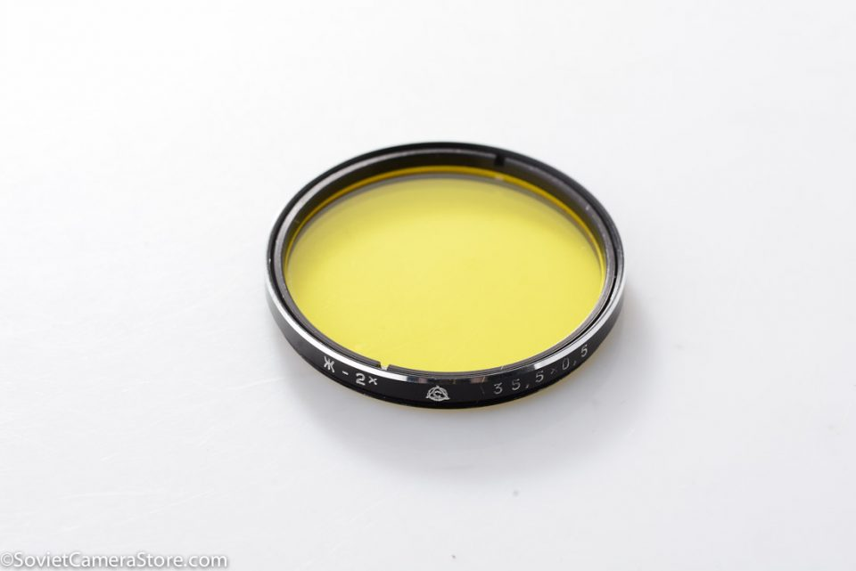 filter – 35.5mm Yellow 2x-1