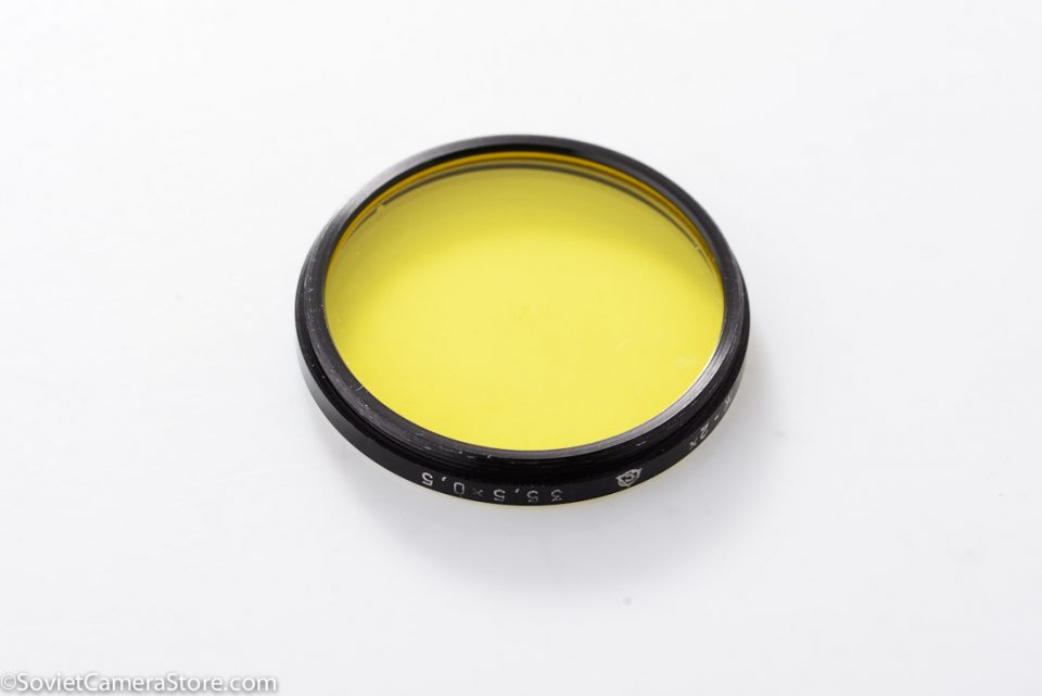 filter – 35.5mm Yellow 2x-2