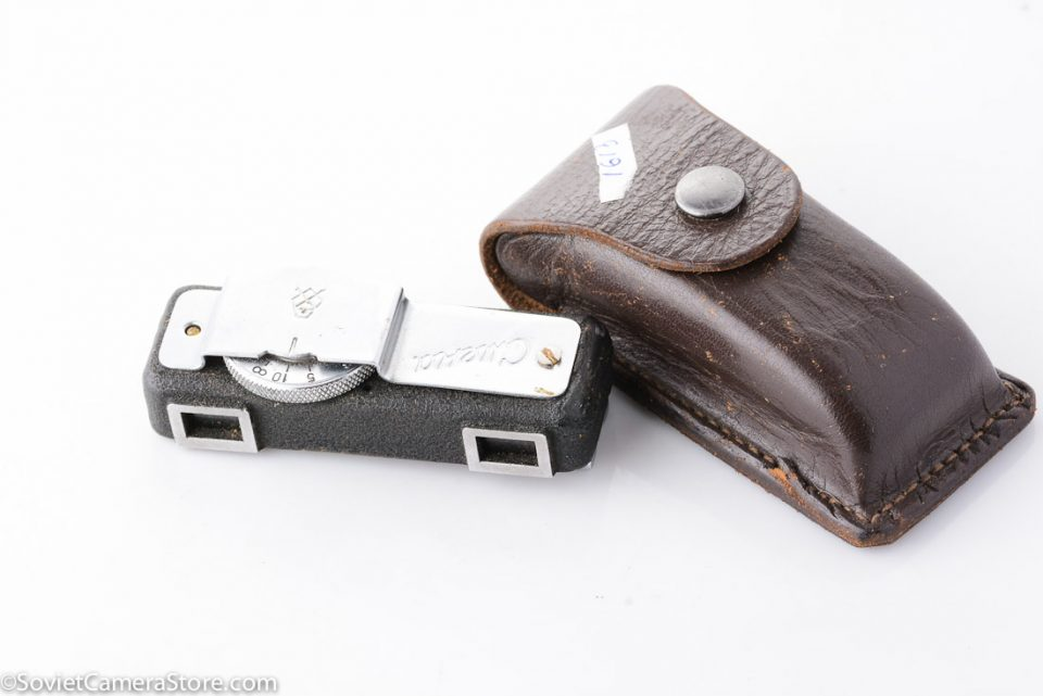 Smena rangefinder accessory with leather case 1613-2