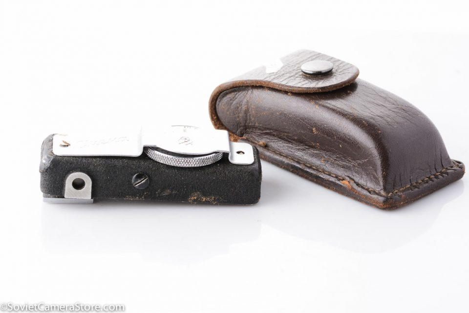 Smena rangefinder accessory with leather case 1613-3