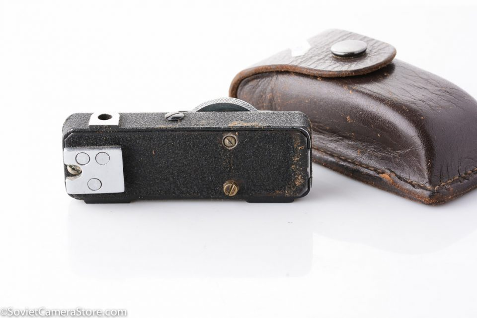 Smena rangefinder accessory with leather case 1613-4